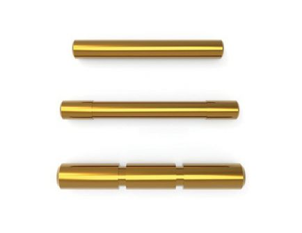 Cross Armory 3 Pin Set for Glock Gen 1 to 3 Pistols, Gold - CRGPSGD