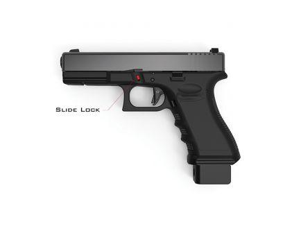Cross Armory Extended Slide Lock for Full Frame Glocks Gen 1-4 Pistols, Black - CRGSLBK