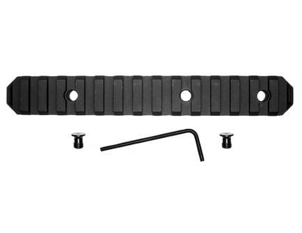 "GrovTec KeyMod Aluminum 15-Slot Picatinny Rail, 6"" L, Type III Anodized Black - GTSW230"
