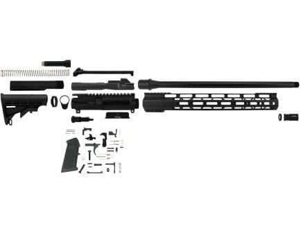 Tacfire Build Kit for AR-15 45 ACP Complete Rifle, Nitride Black - SSRK45ACPLPK