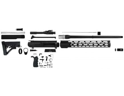 "Tacfire Build Kit w/ 20"" Anodized Black Barrel for AR-10 308 Winchester Rifle - SSRK308LPK18BN"