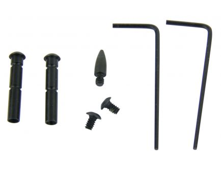 Tacfire Anti-Walk Pin Set for AR-15 Rifle, Black - MAR108