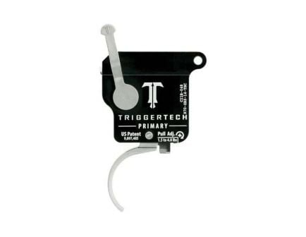 Triggertech Rem 700 Primary Single-Stage Traditional Curved Right Hand Trigger w/ Bolt Release for Remington 700 Rifle, Stainless - R70SBS14TBC