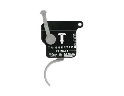 Triggertech Rem 700 Primary Single-Stage Traditional Curved Right Hand Trigger w/o Bolt Release for Remington 700 Rifle, Stainless - R70SBS14TNC