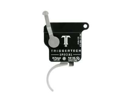 Triggertech Rem 700 Special Single-Stage Traditional Curved Trigger w/ Bolt Release for Remington 700 Rifle, Stainless - R70SBS13TBC
