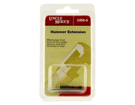 Uncle Mike's Hammer Extension for Ruger Backhawk, H&R Topper/Handi Rifle, Blue - 24560
