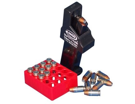ADCO Super Thumb Double Stack .380 ACP Polymer Magazine Loader, Black - ST5