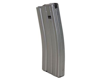 C Products Defense 30 Round .223 Rem/5.56 Duramag AR-15 Detachable Magazine w/ Orange Follower, Gray - 3023002178CP
