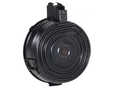 Century Arms 75 Round 7.62x39mm Drum Magazine, Black - MAAK78A