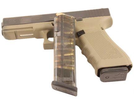 ETS 10 Round 9mm Glock 17/18/19 Detachable Magazine, Clear - GLK-17-10