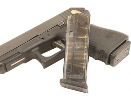 ETS 10 Round 9mm Glock 19/26 Detachable Magazine, Clear - GLK-19-10