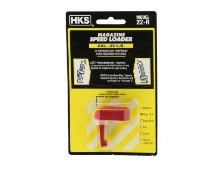 HKS Ruger MK I/MK II .22lr Plastic Magazine Speedloader, Red - 22R