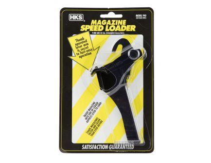 HKS Single Stack .45 ACP Plastic Adjustable Magazine Speedloader, Black - 451