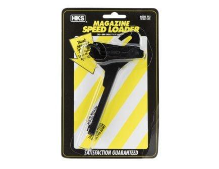 HKS Single Stack 9mm/.380 Plastic Adjustable Magazine Speedloader, Black - 943