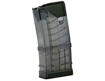 Lancer Systems L5AWM 20 Round .223 Rem/5.56 Detachable Magazine, Smoke - 999000232002