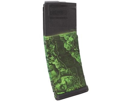 Matrix Diversified Industry 30 Round .223 Rem/5.56 Detachable Magazine, Proveil Reaper Z Green - MAGP17ZG