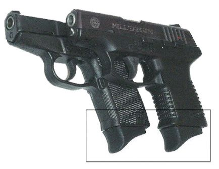 Pearce Grip Grip Extension for Taurus PT111/KelTec P11 Pistols - PG-11