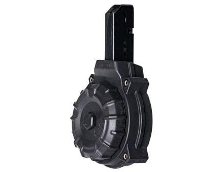 ProMag 50 Round 9mm AR-15 Drum Magazine, Black - DRMA10