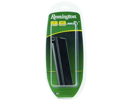 Remington 9 Round 9mm Detachable Single Stack Extended Magazine, Stainless Steel - 17793