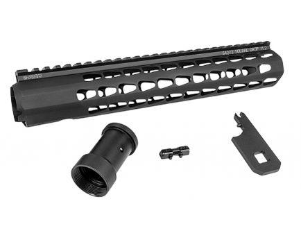 "Advanced Armament SquareDrop 11.2"" AR-15 Free Float Handguard, Anodized Black - 64273"
