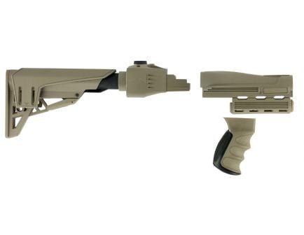 ATI Outdoors Strikeforce Taclite Polymer 6-Position Rifle Stock, Tan - B2201250