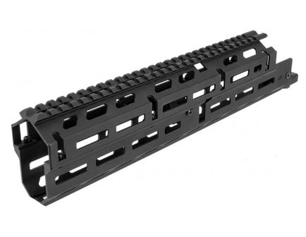 Aim Sports M-LOK AK-47 2-Piece Drop-in Handguard, Long, Anodized Black - MMAK04