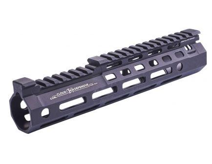 "Cloud Defensive CORv1 9.55"" 6061 T6 Aluminum Optimized Rail, Hardcoat Anodized Black - CORV11BLK"
