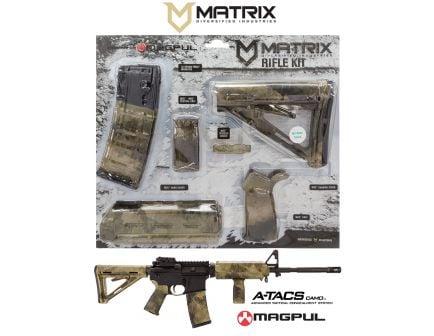 Matrix Diversified Industry Mil-Spec Magpul MOE Furniture Kit, A-TACS AU Camo - MAGMIL01HD