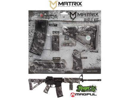 Matrix Diversified Industry Mil-Spec Magpul MOE Furniture Kit, Proveil Reaper Z Silver - MAGMIL19ZS