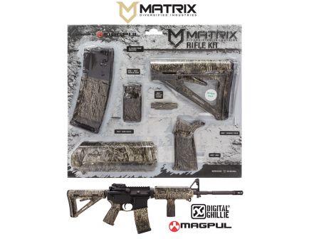 Matrix Diversified Industry Mil-Spec Magpul MOE Furniture Kit, Proveil Digital Ghillie - MAGMIL40GH
