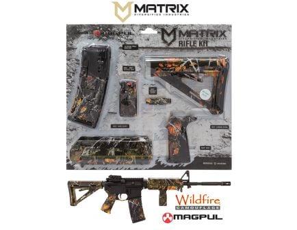 Matrix Diversified Industry Mil-Spec Magpul MOE Furniture Kit, Wildfire Camo - MAGMIL42WF