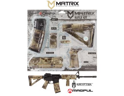 Matrix Diversified Industry Commercial-Spec Magpul MOE Furniture Kit, Kryptek Highlander - MAGCOM47HL