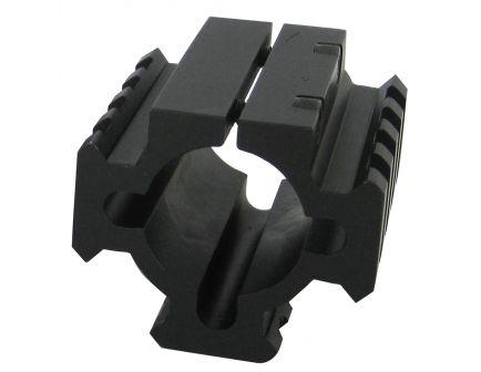 """TacStar Tactical 1.8"""" Short Picatinny Rail Mount, Black - 1081100"""