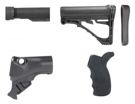 TacStar Collapsible Stock Kit for Remington 870 Shotgun, Black - 1081221