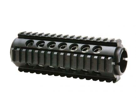 ProMag AR-15/M4 2-Piece, Carbine Length Quad Rail Handguard, Black - PM242