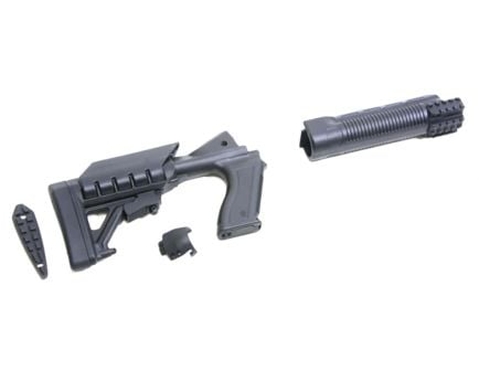 ProMag Archangel Mossberg 500/590 Polymer Tactical Stock System, Black - AA500