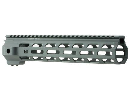 "Samson Manufacturing M-Lok SX 10"" 6061 T6 Aluminum Picatinny Rail System, Hardcoat Anodized Black - SX-ML-10"