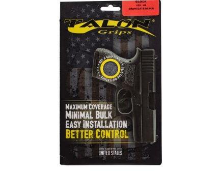 Talon Grips Granulate Pistol Grip for Glock 48/43X, Black - 385G