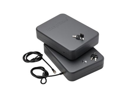 SnapSafe 2-Pack Keyed Alike Lock Box, XX-Large, Black - 75221