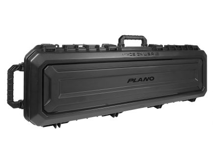 """Plano Molding All Weather (AW2) Double Rifle Case, 52"""", Black - PLA118521"""