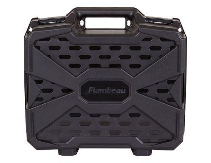 Flambeau Double Deep Tactical Pistol Case, Black - 1511DDP