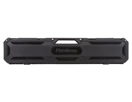"Flambeau Scoped Express Rifle/Shotgun Case, 48"", Black - 6448SC"