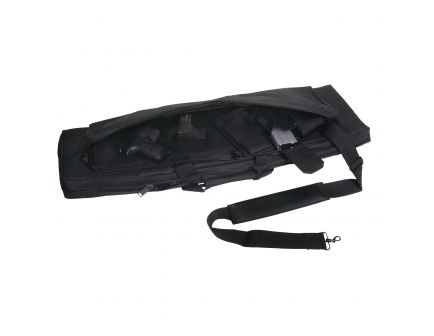 "US Peacekeeper RAT Tactical Rifle Case, 42"", Black - P30042"