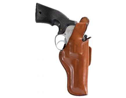 """Bianchi 5BHL Thumbsnap Right Hand 5.5"""" to 6"""" Ruger Redhawk 44 Mag Holster, Plain Tan - 13652"""