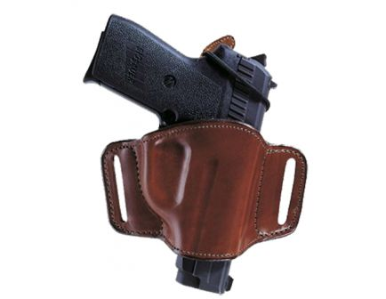 Bianchi Minimalist Right Hand S&W 36/38/40/60/640 Compact Open-Top Holster w/ Slot, Plain Tan - 19242