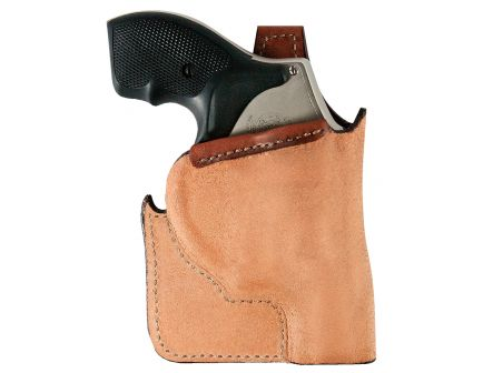 Bianchi 152 Pocket Piece Right Hand Ruger LCR Concealment Holster, Plain Tan - 25204