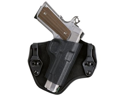 Bianchi Allusion 135 Suppression Size 13 Right Hand Glock 17 Inside-The-Waistband Holster, Plain Black - 25744