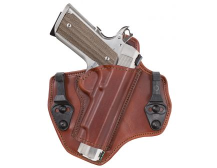 Bianchi Allusion 135 Suppression Size 14 Right Hand Colt 1911 Inside-The-Waistband Holster, Plain Tan - 25884