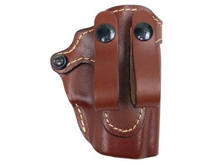 Hunter Company Pro-Hide Right Hand S&W M&P Shield Inside-The-Waistband Open Top Holster, Brown - 470043