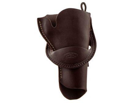 "Hunter Company Crossdraw Right Hand 4.625"" Single Action Handgun Hip Holster, Brown - 109040"